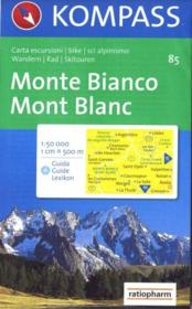 Monte Bianco ; Mont Blanc - Couverture - Format classique