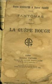 Fantomas Xix. La Guepe Rouge. - Couverture - Format classique
