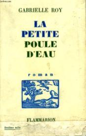La Petite Poule D'Eau. - Couverture - Format classique