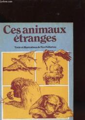 Ces Animaux Etranges Volume 7 Et 8 - Couverture - Format classique