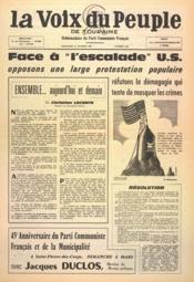 Voix Du Peuple De Touraine (La) N°1281 du 13/02/1966 - Couverture - Format classique