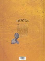 Poème rouge t.3 ; Eloa - 4ème de couverture - Format classique