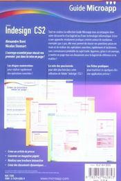Indesign cs2 - 4ème de couverture - Format classique