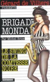 Brigade mondaine t.222 ; le swing de la comtesse noire - Couverture - Format classique