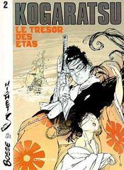 Kogaratsu t.2 ; le trésor des Etas - Intérieur - Format classique