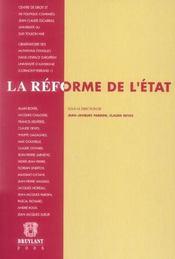 La reforme de l'etat - Intérieur - Format classique