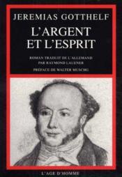 Argent Et L'Esprit (L') - Couverture - Format classique