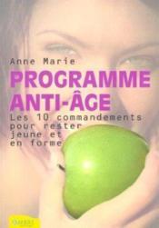 Programme Anti-Age - Couverture - Format classique