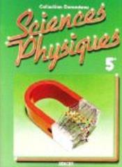 Sciences Physiques Durandeau 5e - Couverture - Format classique
