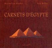 Carnets d'Egypte - Couverture - Format classique