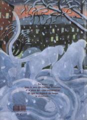 Les léopards des neiges - 4ème de couverture - Format classique