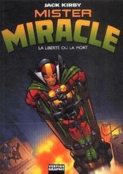 Mister Miracle ; la liberté ou la mort - Couverture - Format classique
