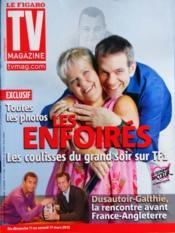 Tv Magazine Le Figaro N°21028 du 10/03/2012 - Couverture - Format classique