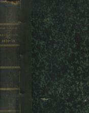 HISTOIRE DE LA REVOLUTION DE 1870-71. Chute de l'empire, la guerre, le gouvernement de la défense nationale, la paix, le siège de Paris, La commune de Paris, le gouvernement de M. Thiers. - Couverture - Format classique