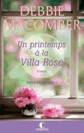 Un printemps à la villa rose - Couverture - Format classique