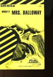 Cliffs Notes On Woolf'S Mrs. Dalloway - Couverture - Format classique