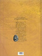 La dernière prophétie t.3 ; sous le sigle de Ba'al - 4ème de couverture - Format classique