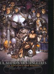 La caste des méta-barons ; la maison des ancêtres - Intérieur - Format classique