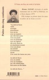 A L'Eau, Au Feu, Au Vent, A La Terre - 4ème de couverture - Format classique