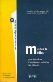 Musees Et Medias - Couverture - Format classique