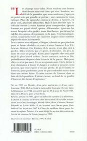 Femmes En Deuil Sur Un Camion - 4ème de couverture - Format classique