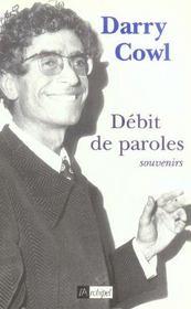 Debit De Paroles - Intérieur - Format classique