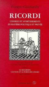 I Ricordi - Couverture - Format classique