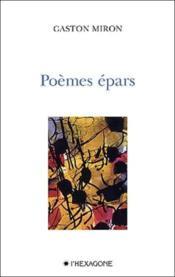 Poemes Epars - Couverture - Format classique