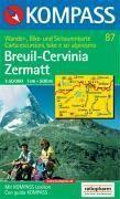 Breuil ; cervinia-zermatt - Couverture - Format classique