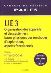 Ue3 organisation des appareils et des