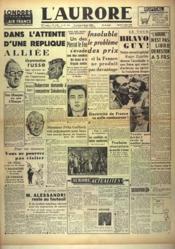 Aurore (L') N°1184 du 04/07/1948 - Couverture - Format classique