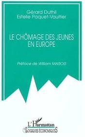 Le Chomage Des Jeunes En Europe - Intérieur - Format classique