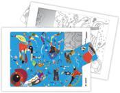 Puzzle à la manière de... Kandinski - Couverture - Format classique