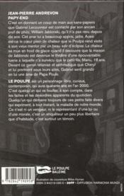 Papy End - 4ème de couverture - Format classique