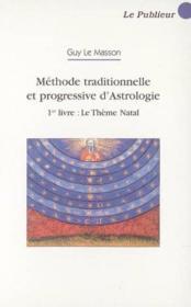 Et progressive d'astrologie - Couverture - Format classique