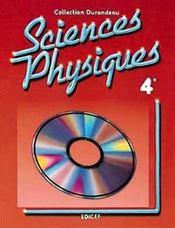 Sciences Physiques Durandeau 4e - Intérieur - Format classique