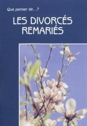 Les Divorces Remaries - Couverture - Format classique