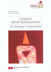 L'enfant abuse sexuellement - Couverture - Format classique