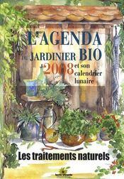 L'agenda du jardinier bio et son calendrier lunaire (édition 2008) - Intérieur - Format classique
