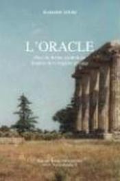 L'Oracle, Piece De Theatre, Drame Inspire De La Tragedie Grecque - Couverture - Format classique