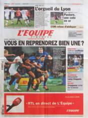 Equipe (L') N°21061 du 11/03/2012 - Couverture - Format classique