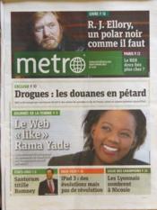 Metro Paris N°2170 du 08/03/2012 - Couverture - Format classique