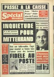 Special Derniere N°389 du 13/08/1976 - Couverture - Format classique