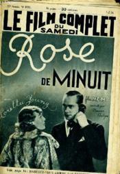 Le Film Complet Du Samedi N° 1751 - 15e Annee - Rose De Minuit - Couverture - Format classique