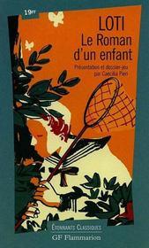 Le roman d'un enfant - Intérieur - Format classique