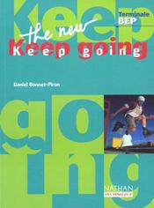 Vente  The new keep going t/bep ele  - Daniel Bonnet-Piron