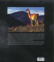 Patagonie - 4ème de couverture - Format classique