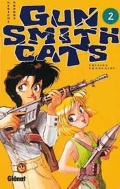 Gunsmith cats t.2 - Couverture - Format classique