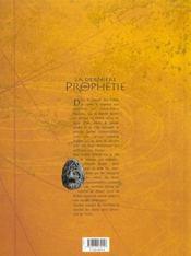 La dernière prophétie t.1 ; voyage aux enfers - 4ème de couverture - Format classique