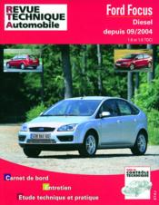 Rta 698.2 Ford Focus Diesel Dep 09/04 1.6/1.8 Tdci - Couverture - Format classique